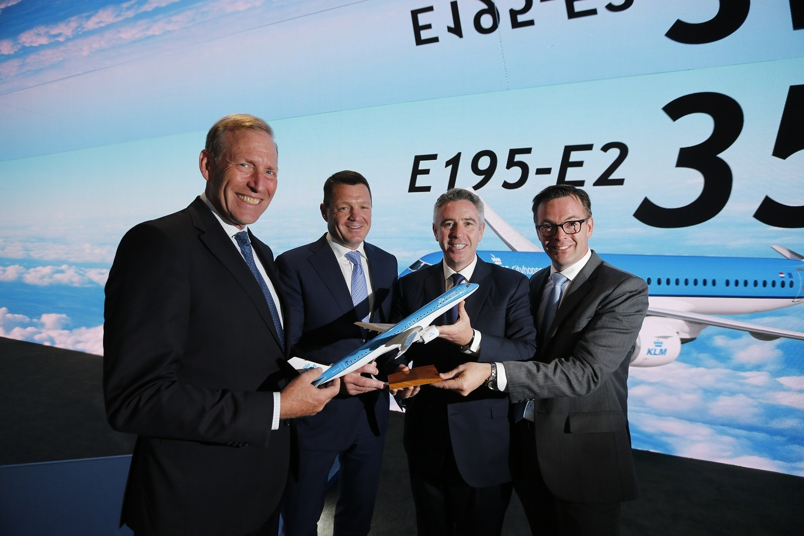Embraer Announces KLM Intention for up to 35 E195-E2 Jets