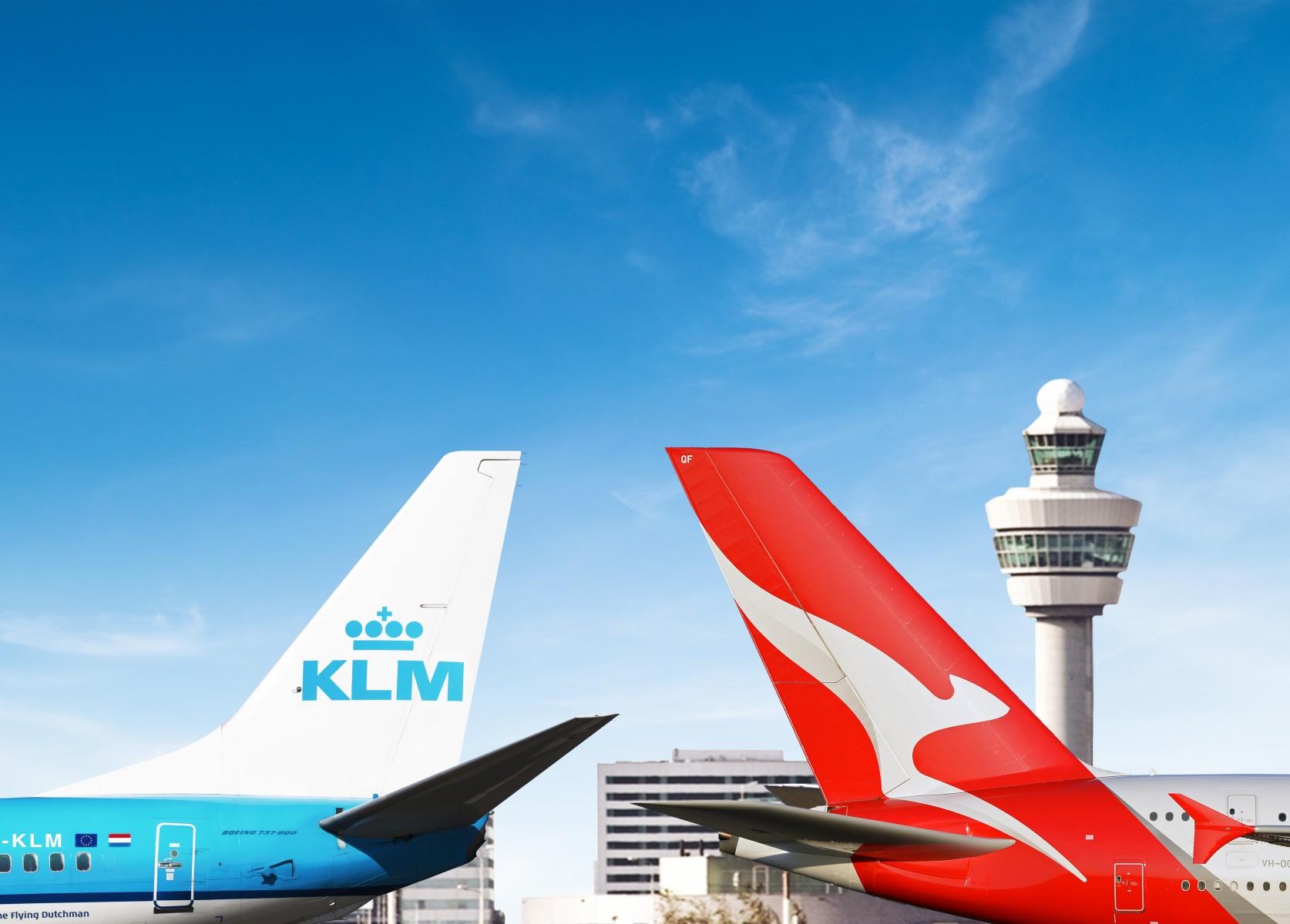 KLM and Qantas sign code-sharing agreement