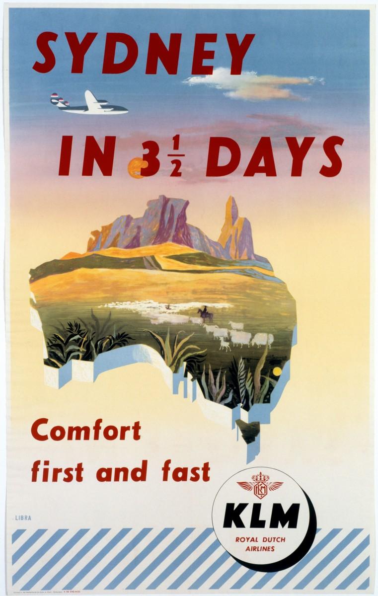 Sydney in 35 days 1951