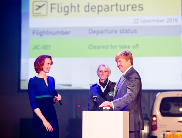 Koning opent Joint Inspection Center op Schiphol