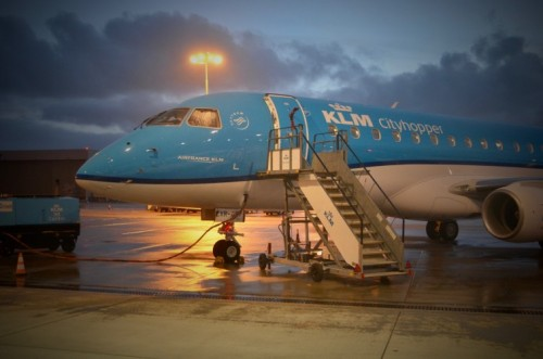 KLM Cityhopper welcomes newest Embraer 175+ at Schiphol