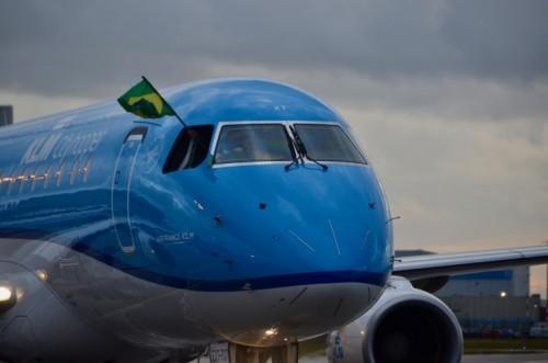 De 43ste Embraer voor KLM Cityhopper