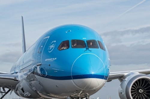 PH-BHO Arrival Schiphol (Desril Santoso Teguh )