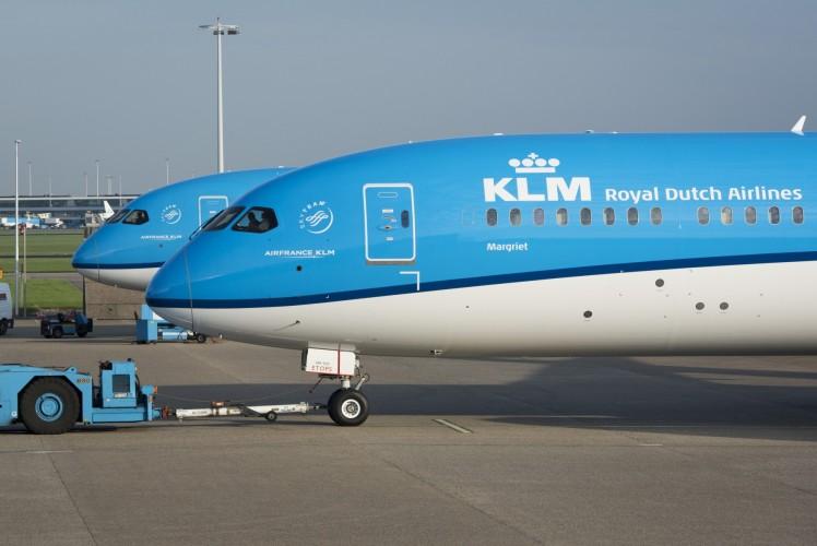 KLM welcomes tenth Boeing 787-9 Dreamliner 'Marguerite'
