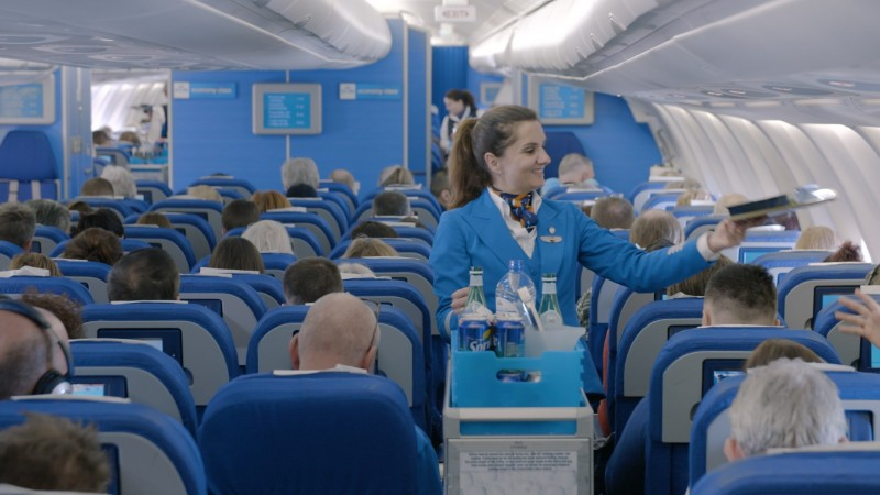 KLM New Economy Class Meal Service Aboard its Airbus A330-300
