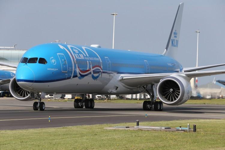 Primer Boeing 787-10 de KLM.