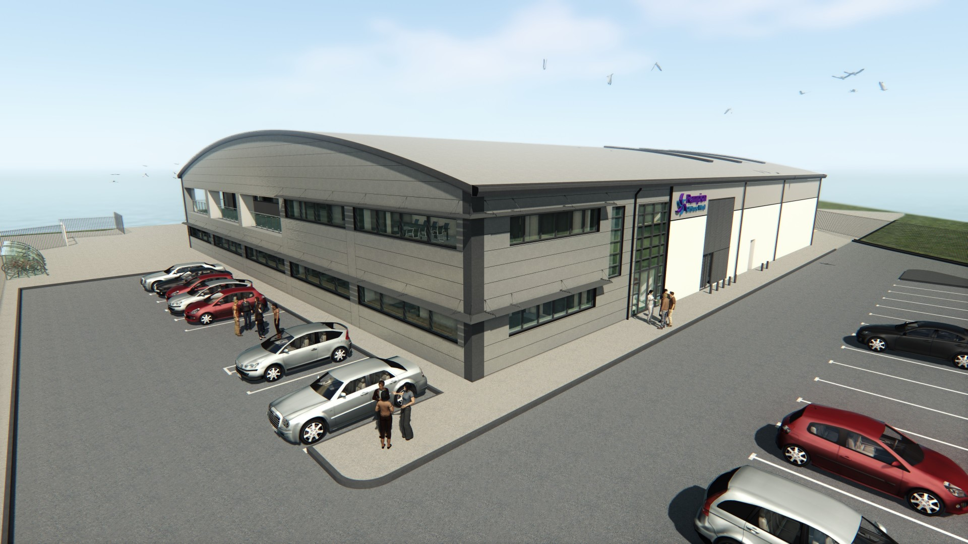 Rampion OandM building artists impression