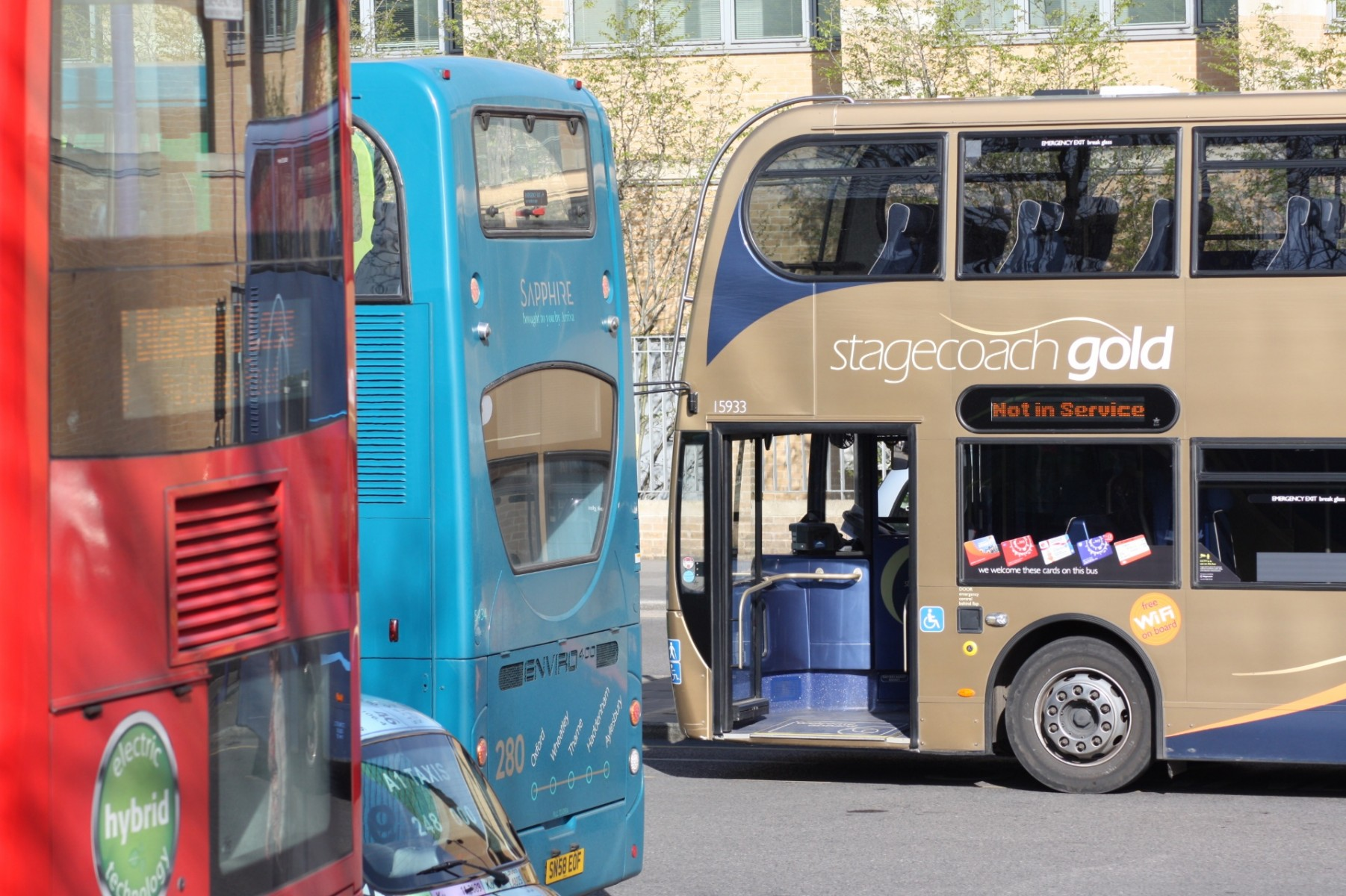Buses Oxford Bid