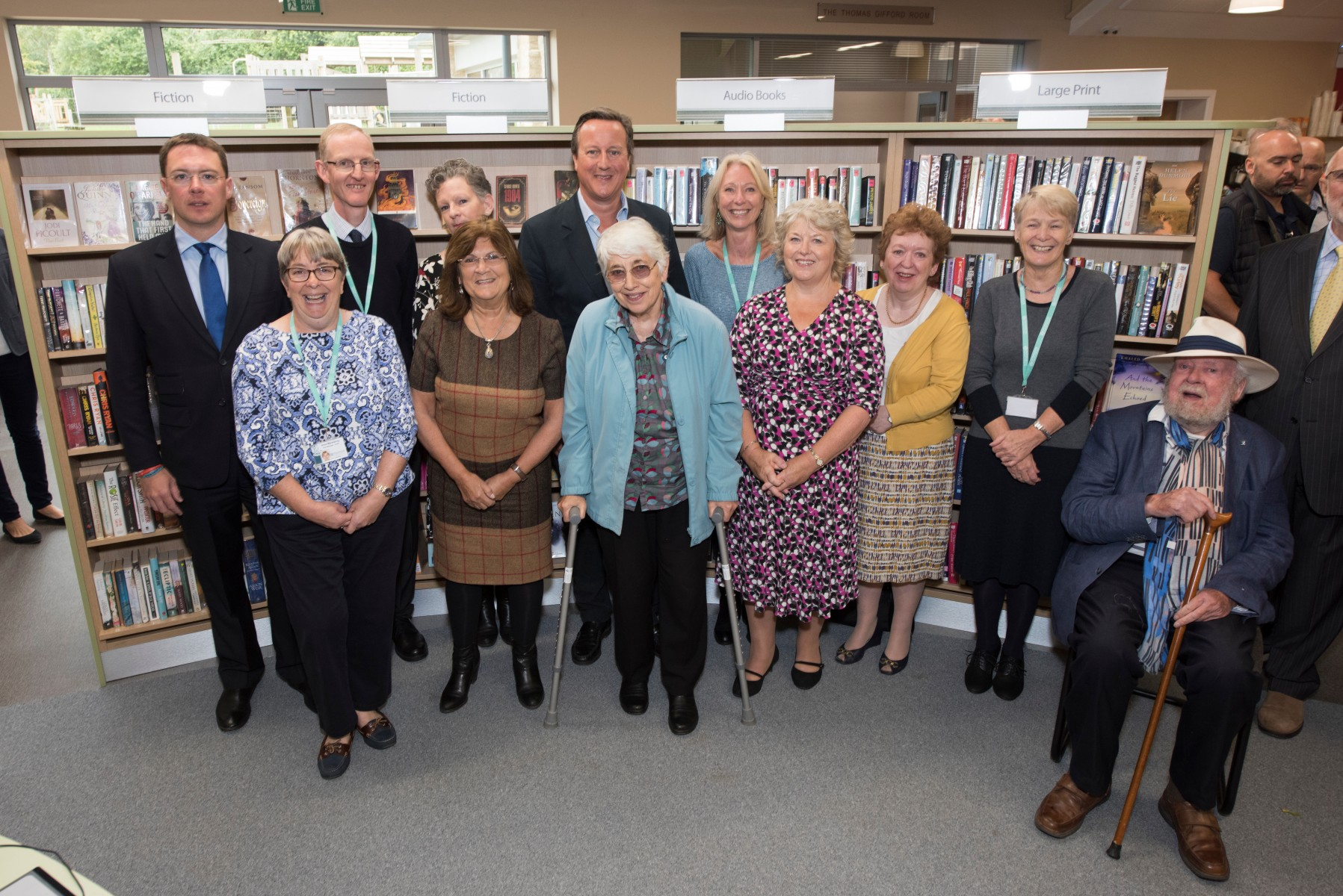 DC at Charlbury Library