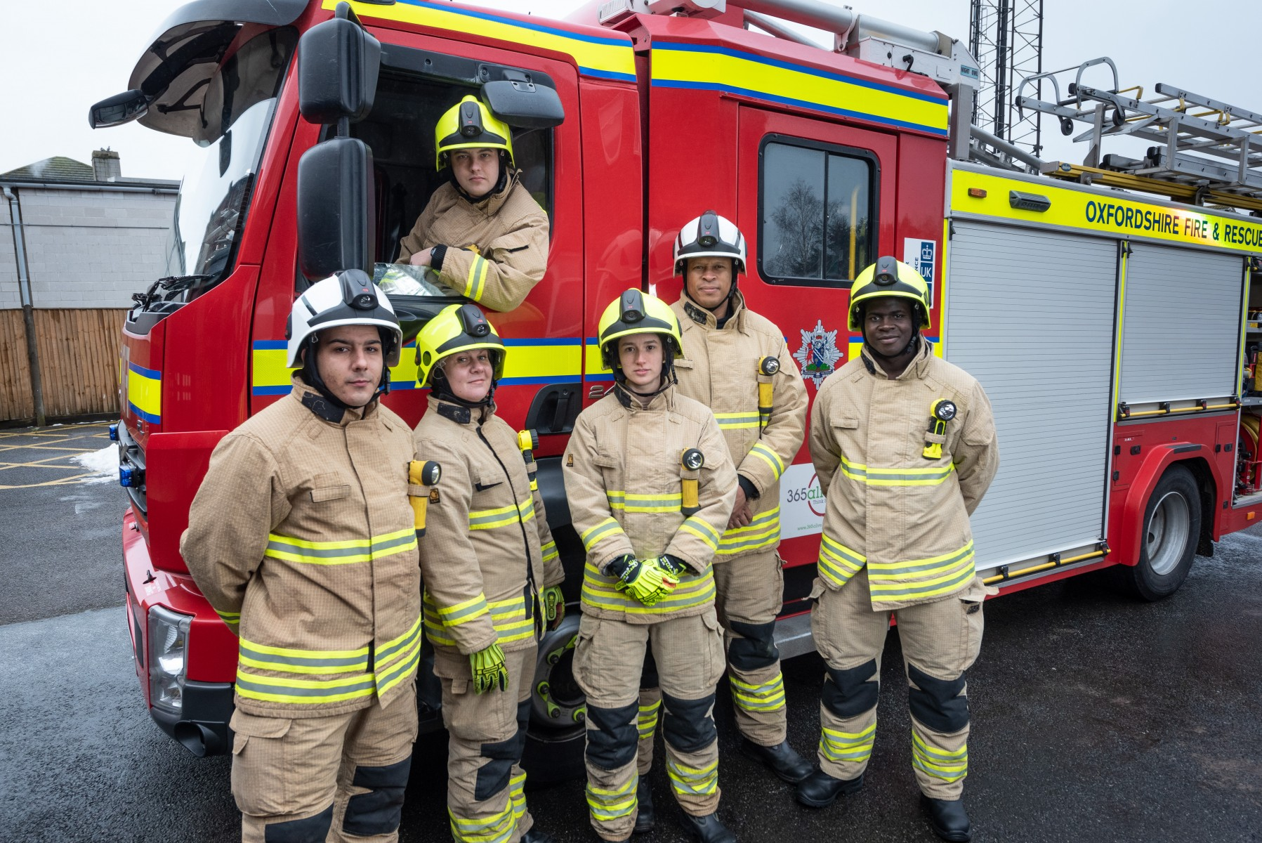 Image - Fire service - Thames Valley Partnership