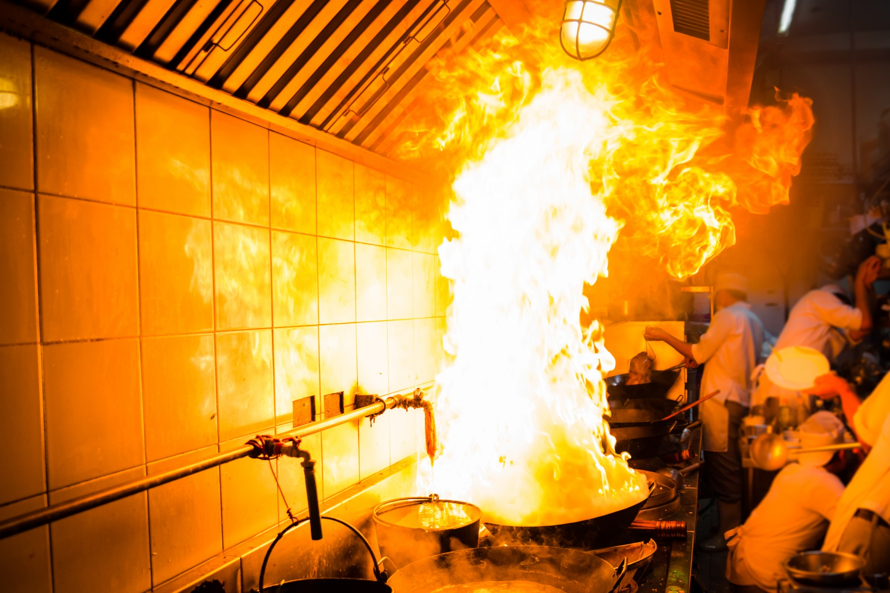 Photo - Cooking Fire - business