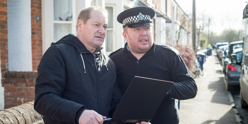 Photo - Martin Woodley OCC TS and PC Wheeler - Operation Rogue Trader