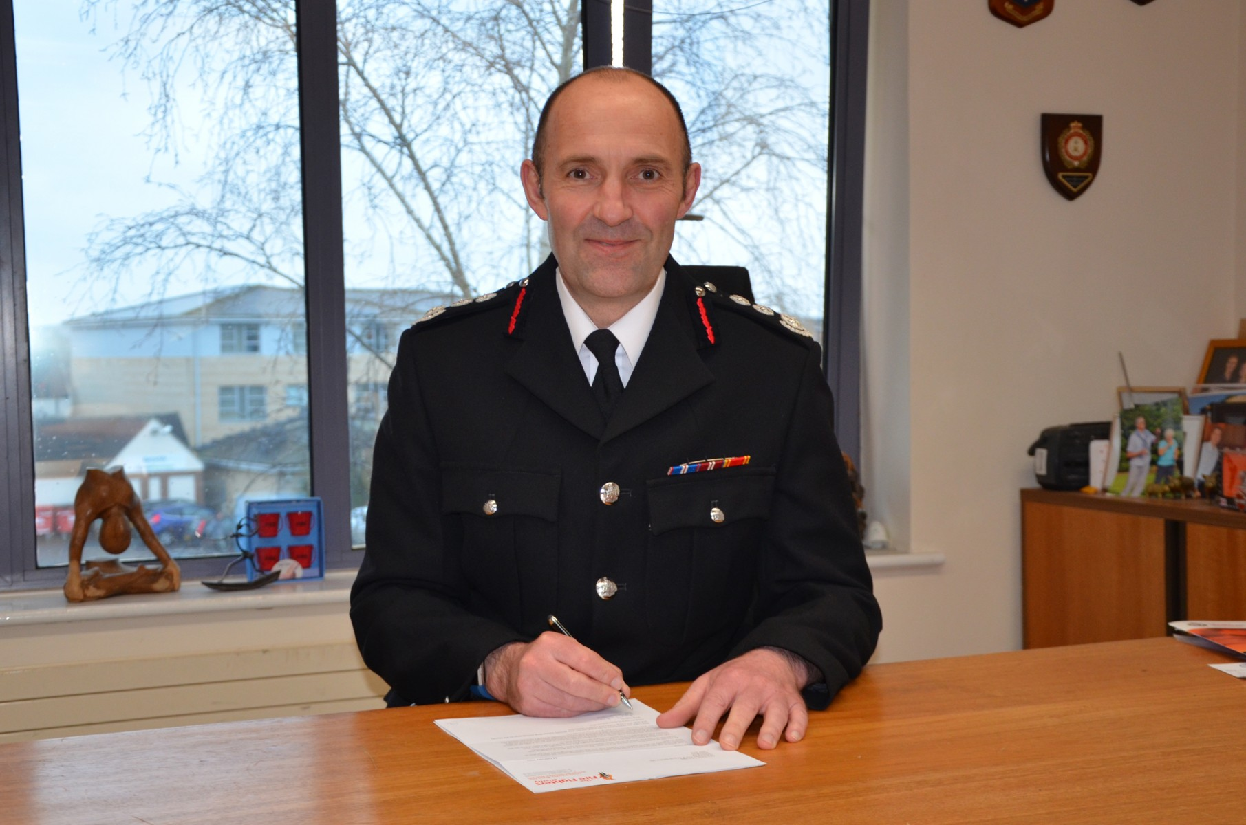 Simon Furlong Chief Fire Officer Oxfordshire County Council Fire and Rescue Service