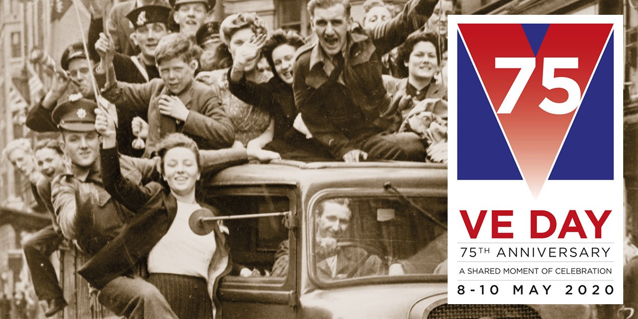 VE DAY internal news feed 600x300