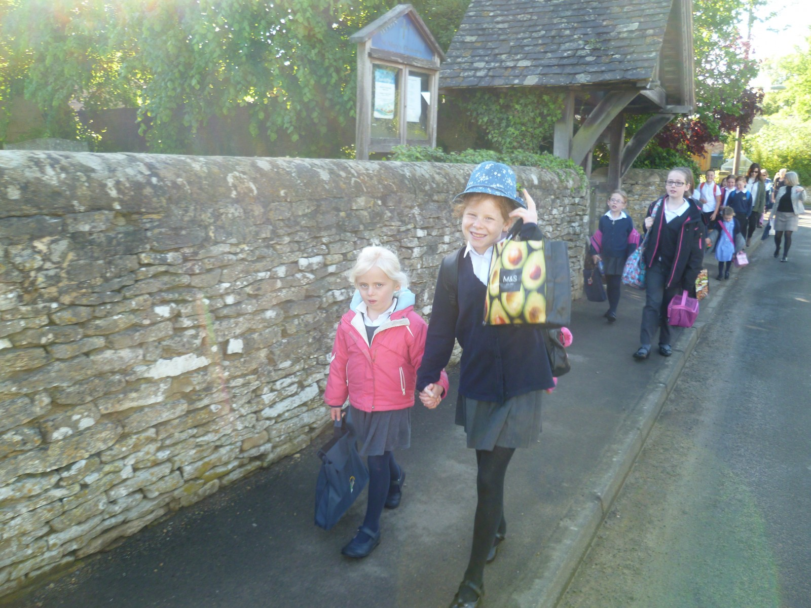 Walk to School Week1