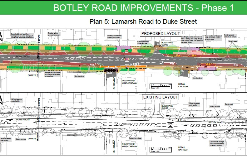 Botley Road bus lane2