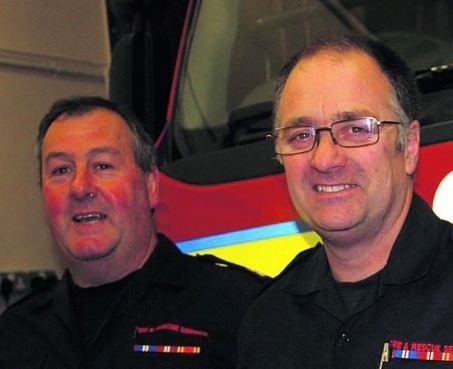Image - Firefighters Steve Edginton and Charlie Williams - lr