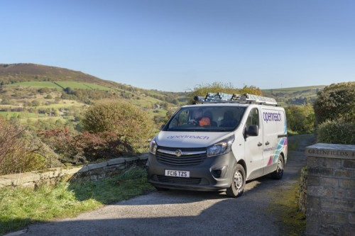 Openreach van_rural setting