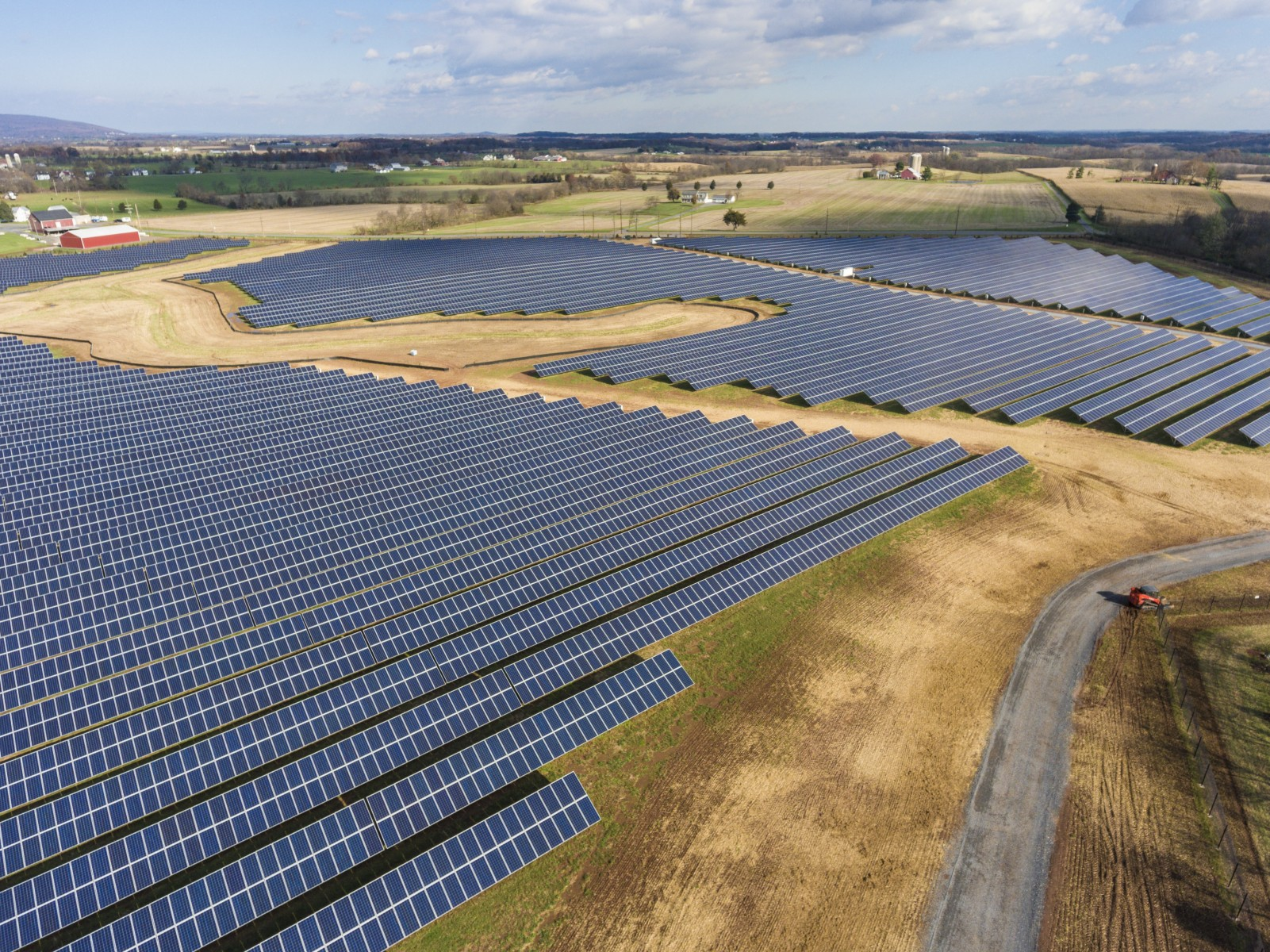 National Geographic is purchasing the renewable resource from Baker Point Solar, Cypress Creek Renewables' first solar site in Maryland, a facility that also provides an important habitat for pollinators like bees and butterflies, helping to maintain a planet in balance.