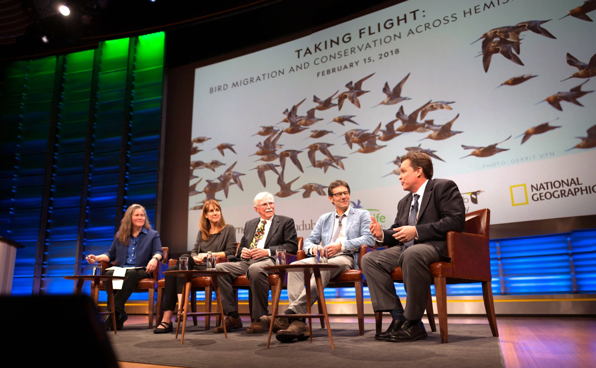 Expert Birders Discuss Conservation Threats and Opportunities at National Geographic Society