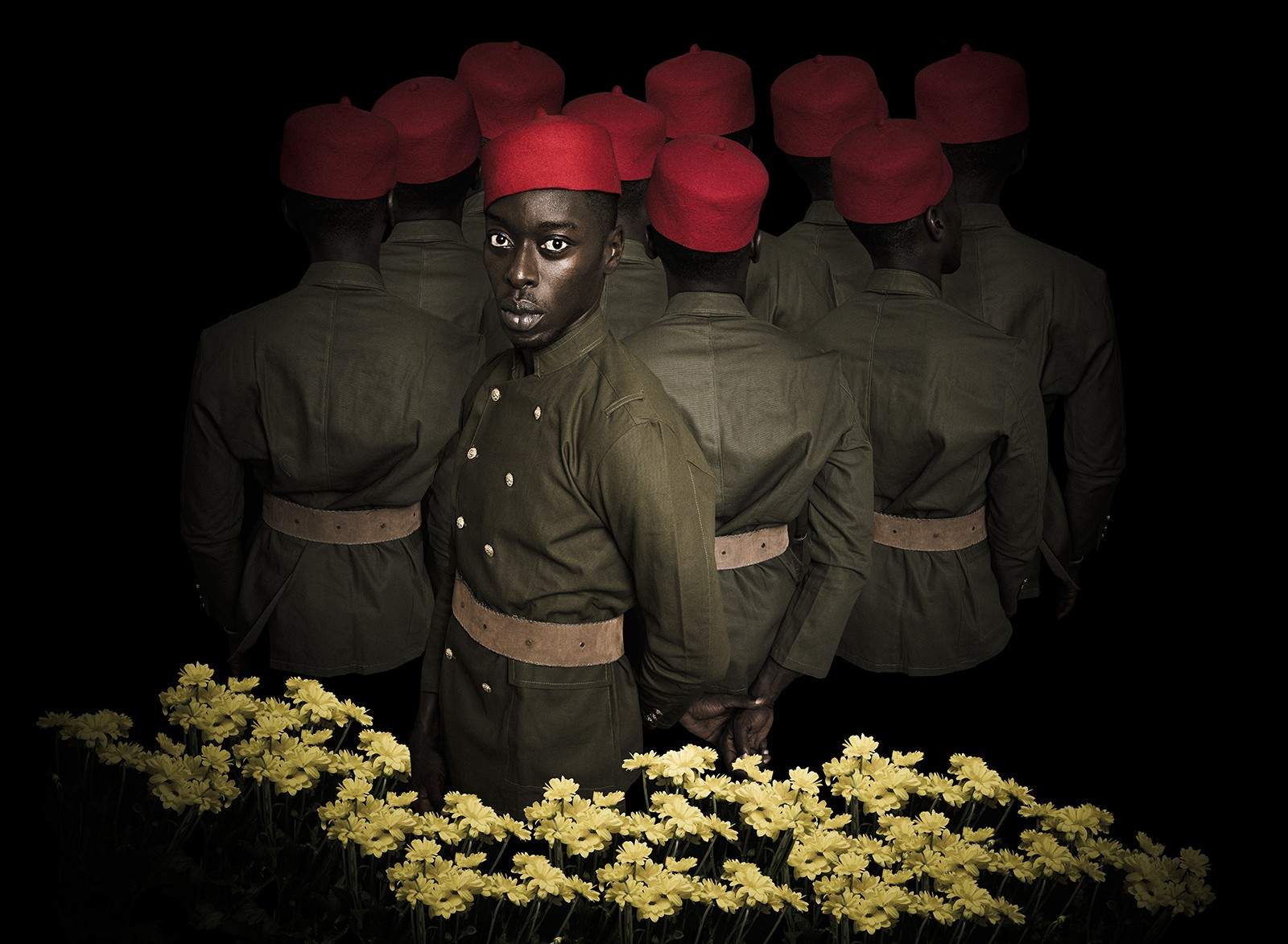 Senegalese artist Omar Victor Diop used his photos to re-expose the past, like this one, giving life to revolutionary African American heroes that have been forgotten.