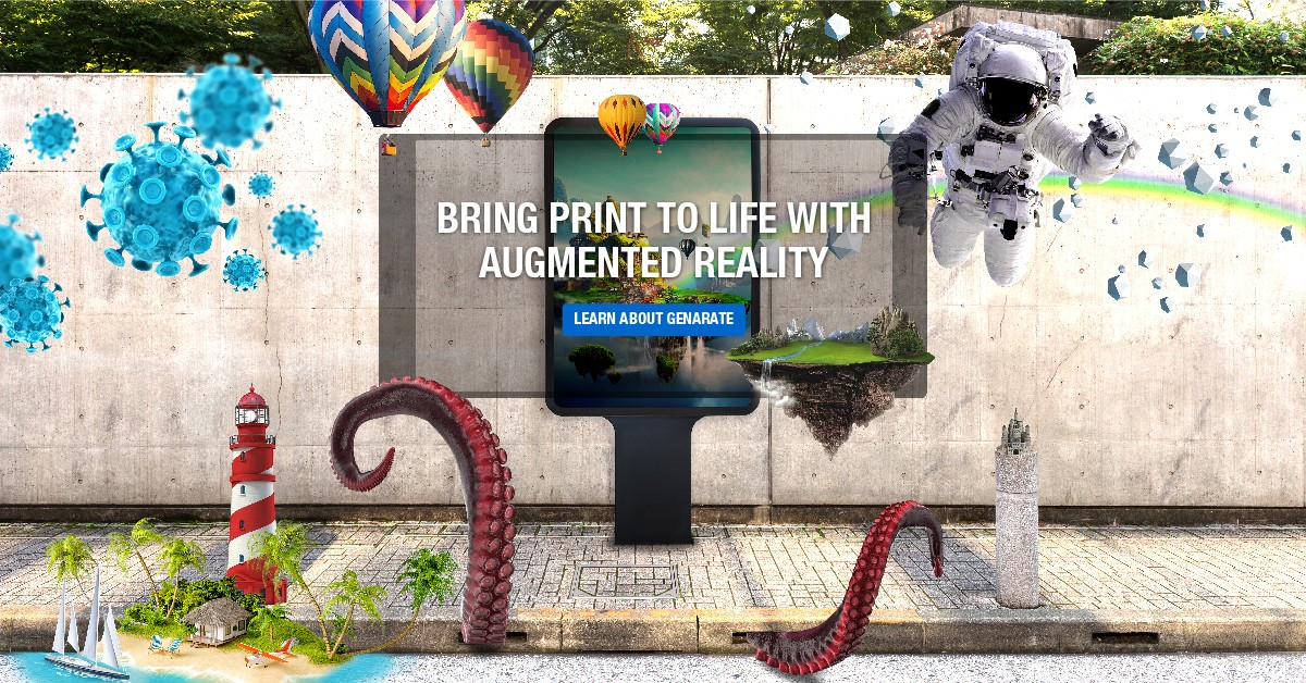 Print in Motion - genARate from Konica Minolta makes