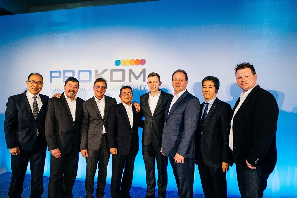 PROKOM board (L to R)_Andy Fry, Jacky Gerard, Andy Barber, J. Chris Bowen and Christian Kopocz