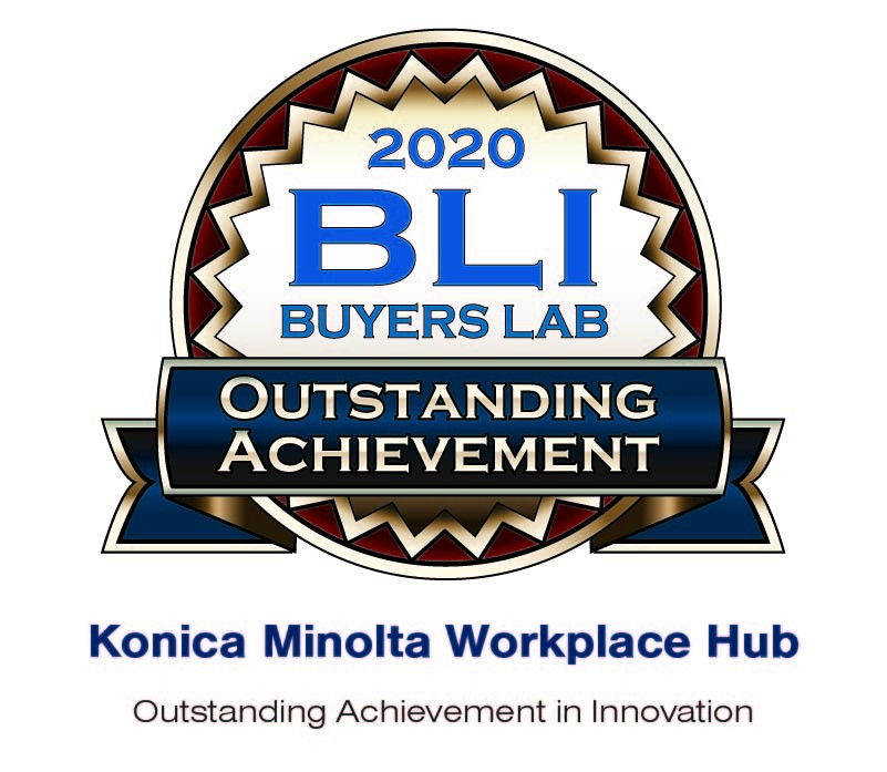 Seal - Konica Minolta Workplace Hub OA Seal 2020 - Intl