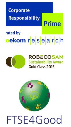 Oekom Research Robeco SAM Logo