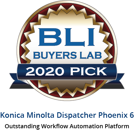Seal - Konica Minolta Dispatcher Phoenix 6 Seal 2020 - Intl