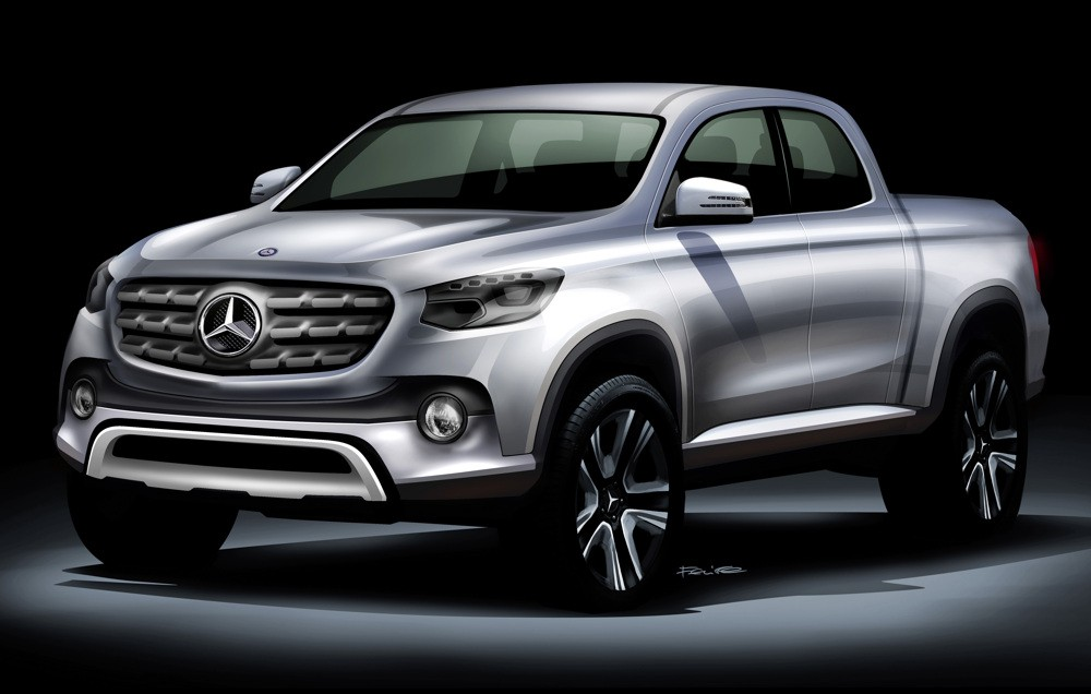 Mercedes-Benz Vans to launch midsize pickup
