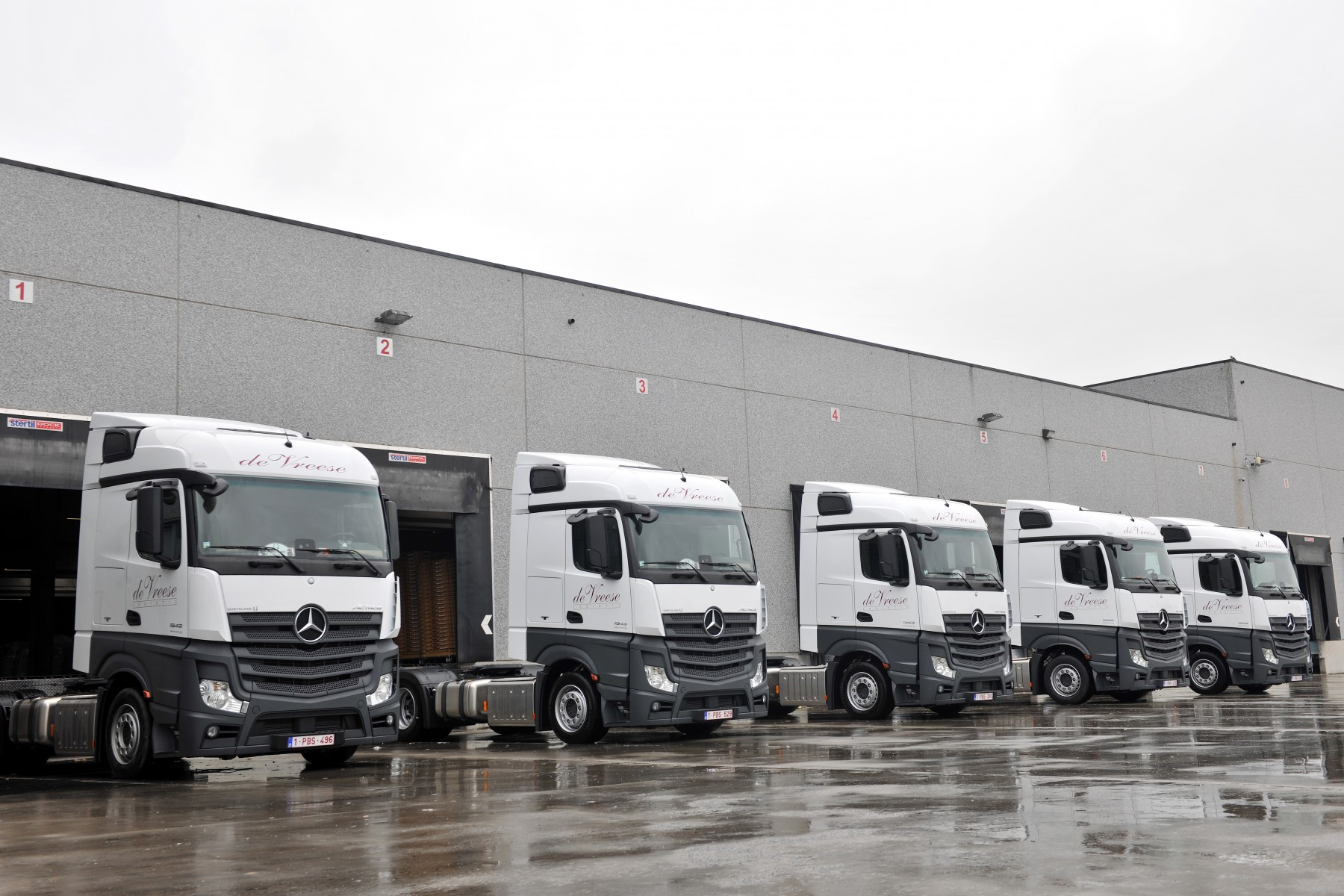 De Vreese Logistics shopt bij Mercedes-Benz