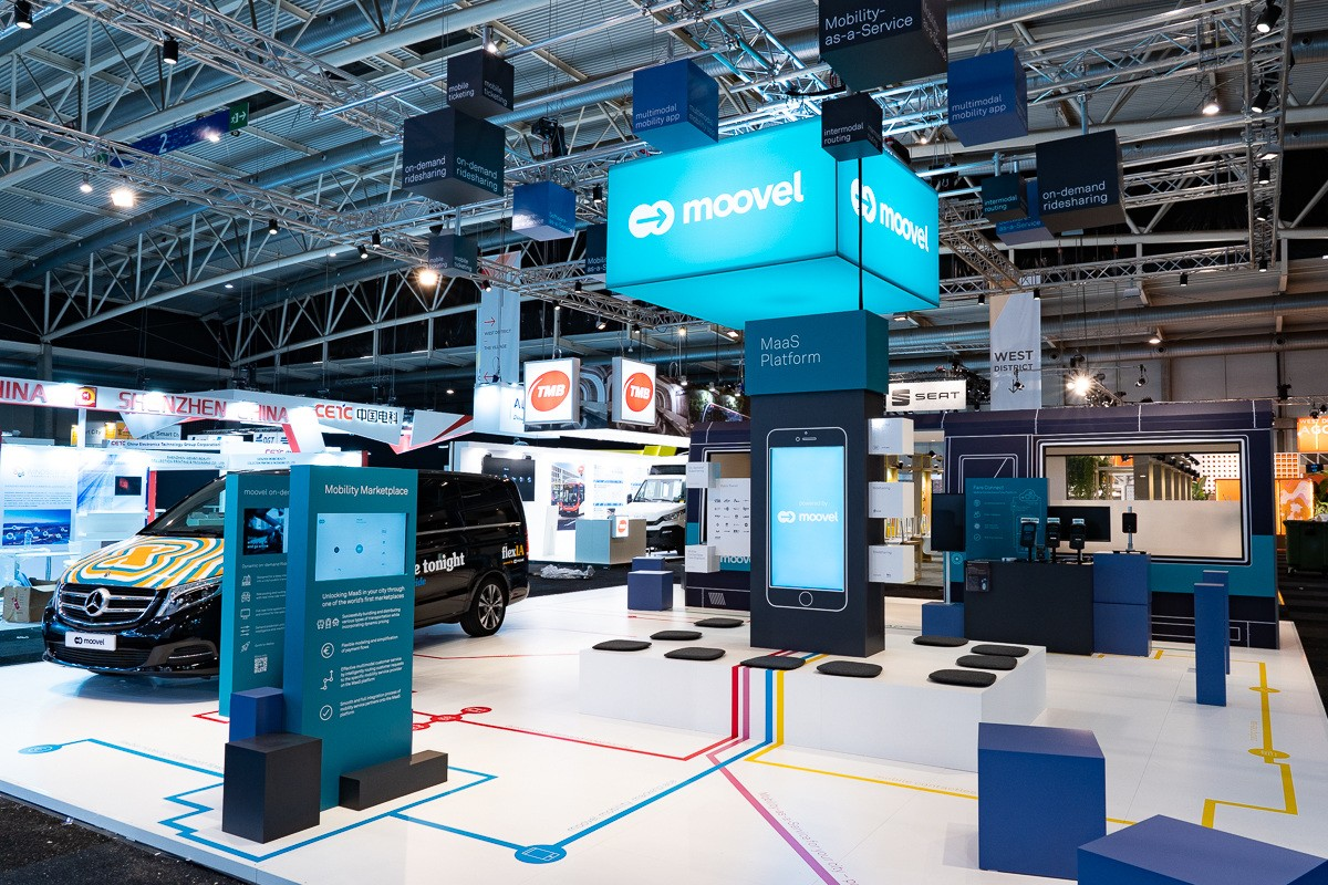 """Making Cities Smarter"": moovel präsentiert neueste digitale Mobilitätslösungen auf Smart City Expo World Congress in Barcelona   ""Making cities smarter"": moovel presents the latest digital mobility solutions at Smart City Expo World Congress in Barcelona"