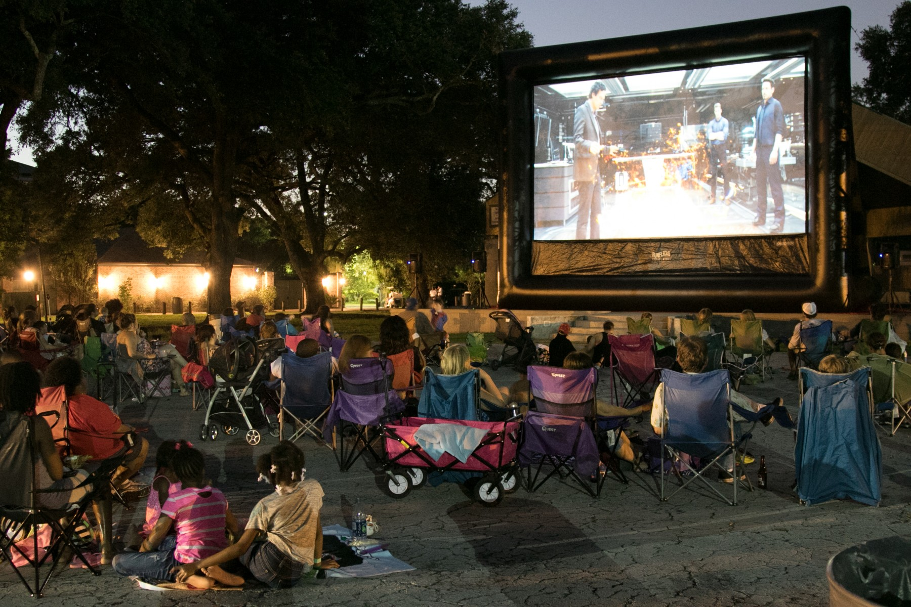 Dinner and a ZOOvie Series Back at Audubon Zoo