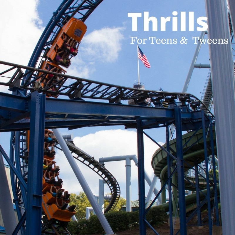 Thrills for Teens and Tweens at Hersheypark