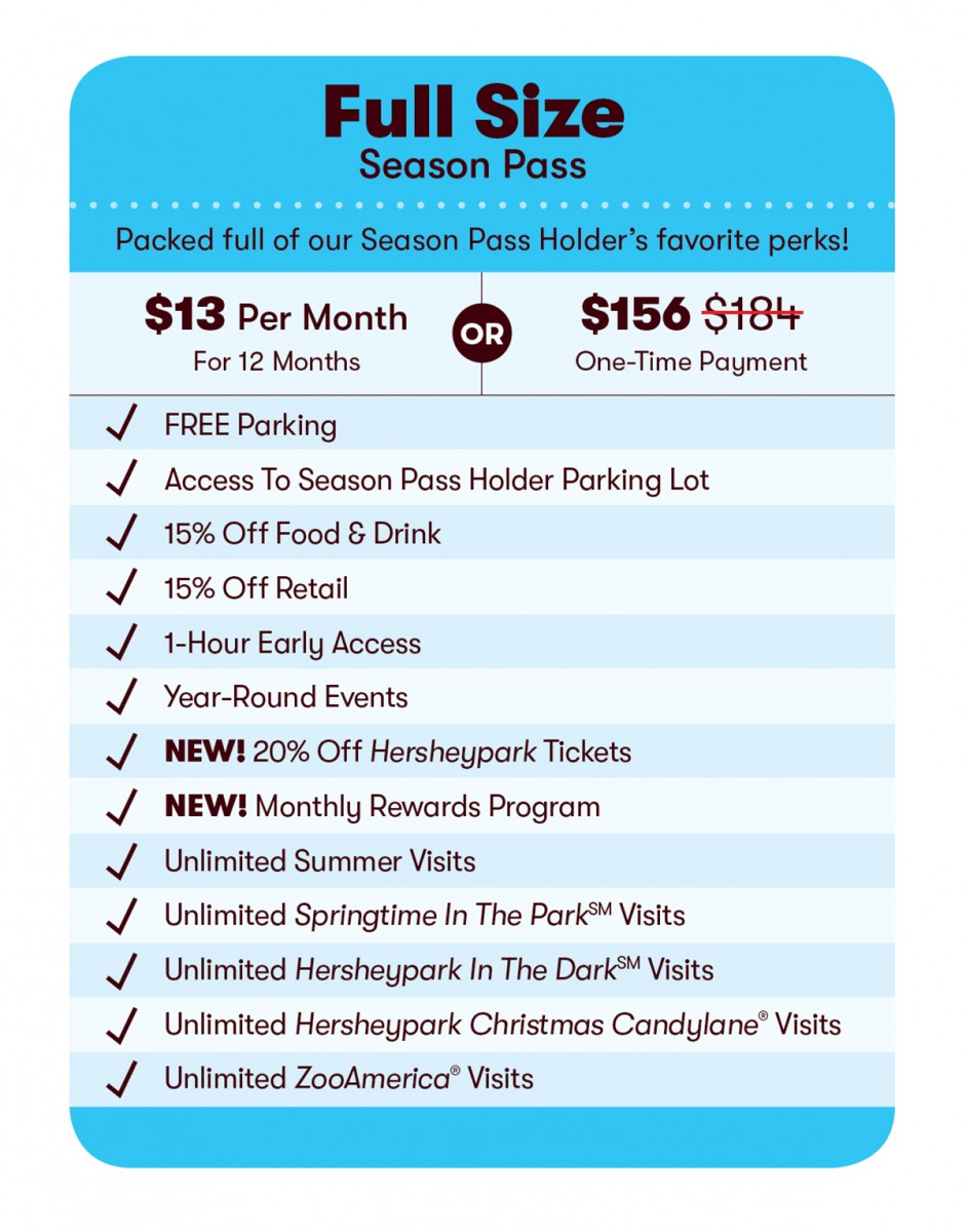 2020 Full Size Season Pass