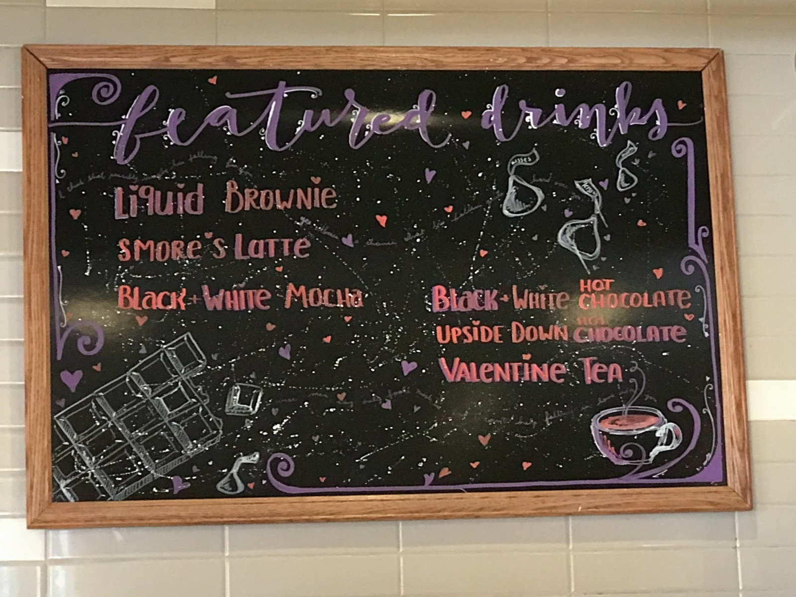 HCAR's List of February's Specialty Drinks