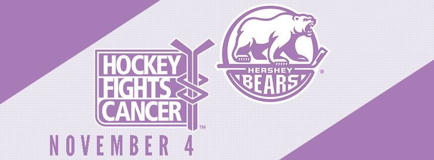 sale retailer a6cc8 4c48f Bears to Host Hockey Fights Cancer Night on Sunday