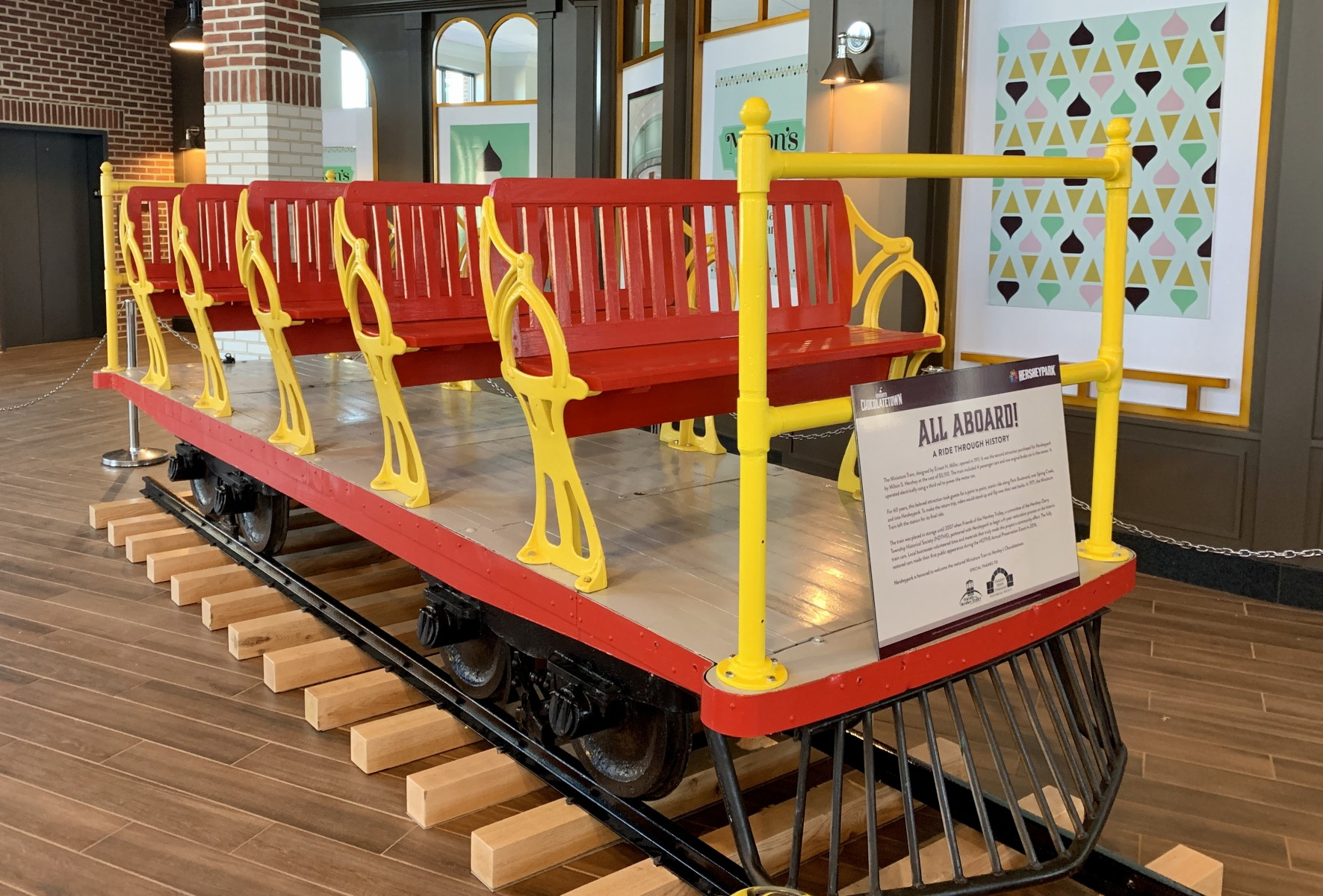 Hershey's Chocolatetown Mini Train