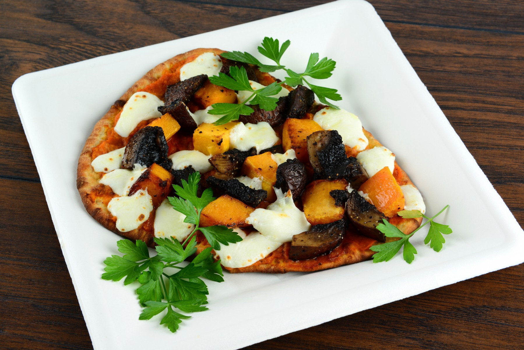 Pumpkin Portobello Pizza