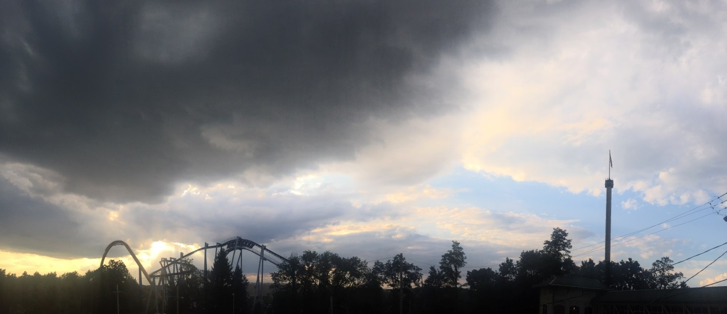 Rainy day at Hersheypark