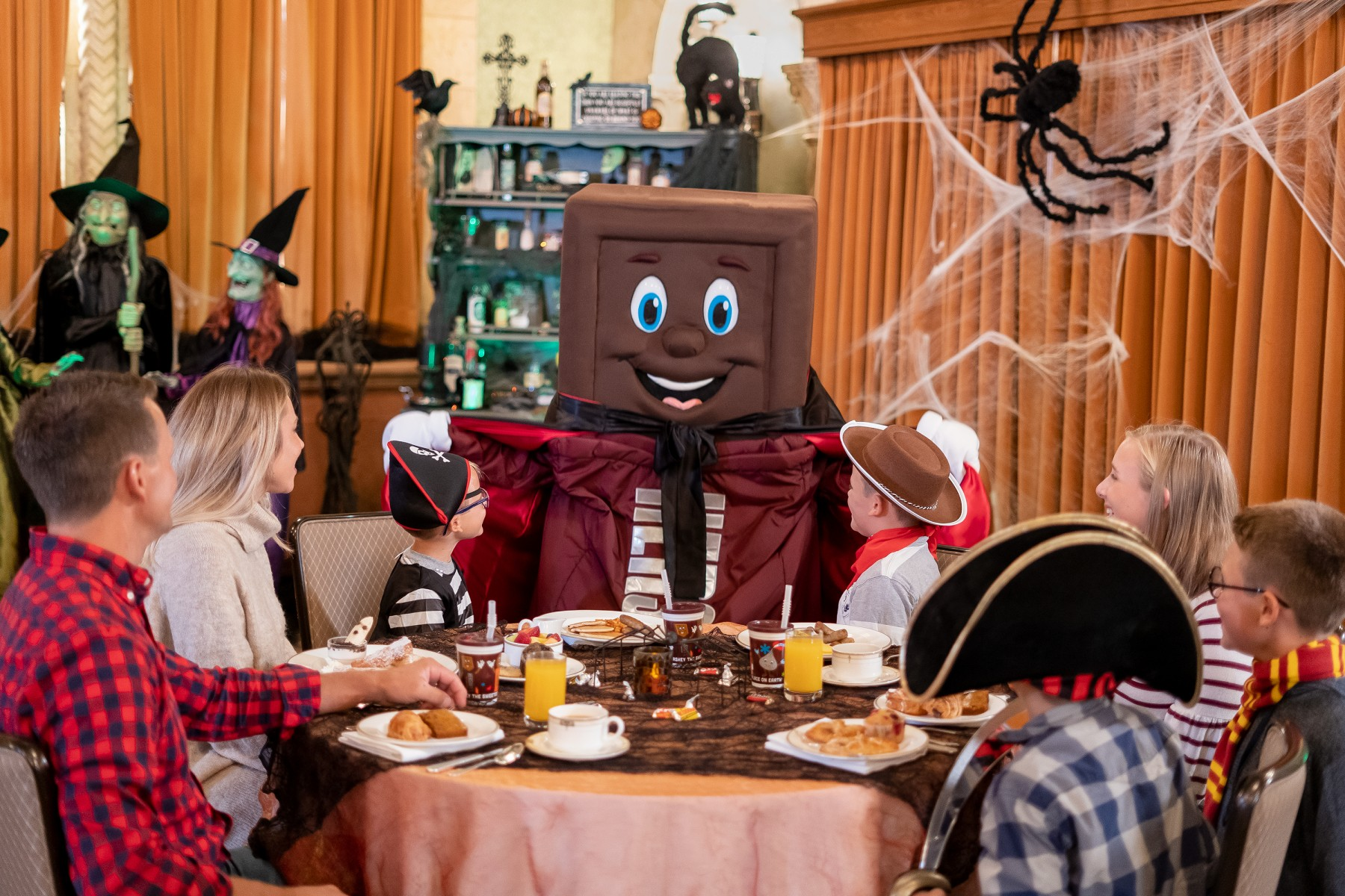 Resorts Character Breakfast with Hershey Bar