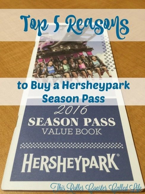 Hersheypark Season pass is a great buy