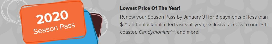 Season Pass Lowest Price of the Year 2020