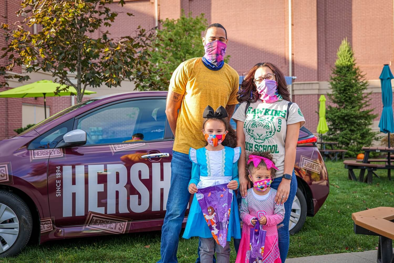 Trick-or-Treat at Hershey's Chocolate World