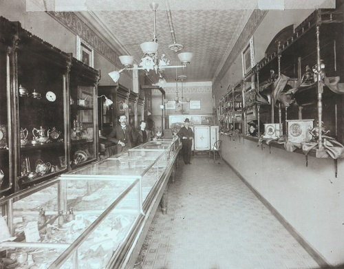 Jamestown Jewelry Store, 1897