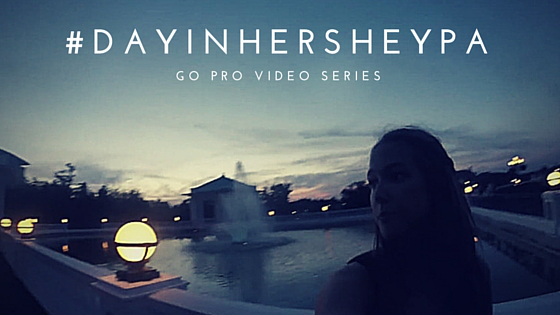Day In Hershey PA Go Pro Video Series