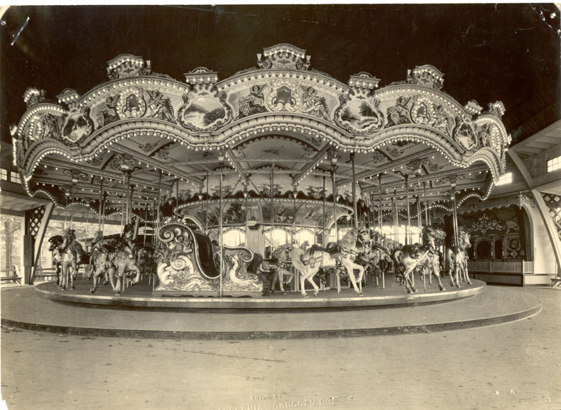 Historic Carrousel in 1944