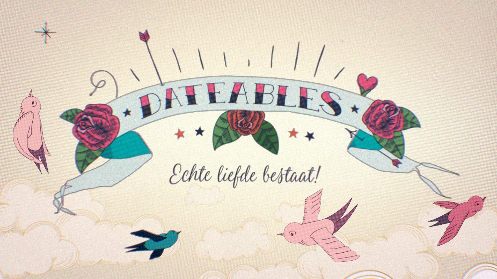 The Dateables - logo