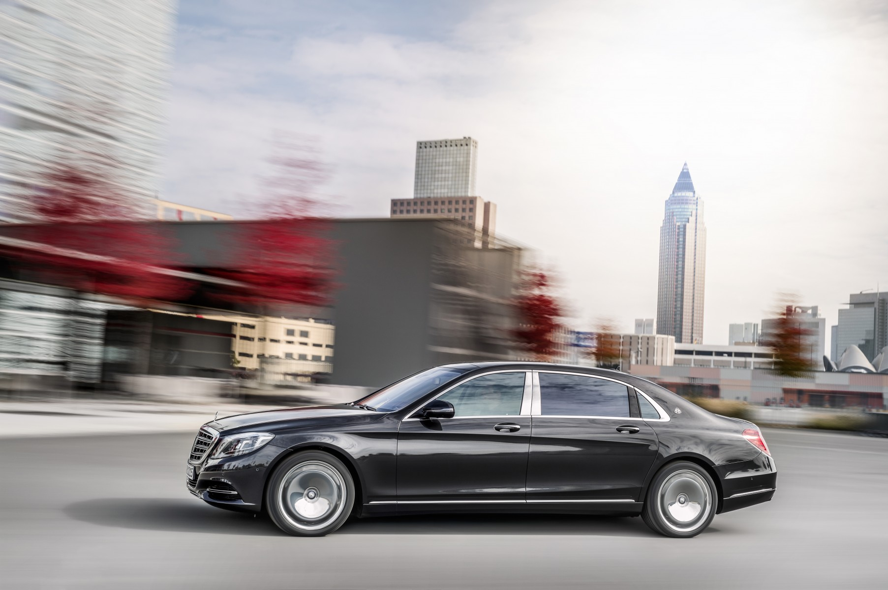 Mercedes-Maybach S 600, exterior